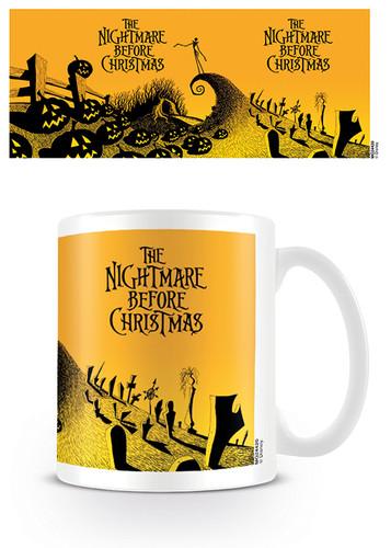 The Nightmare Before Christmas Graveyard Scene Mug