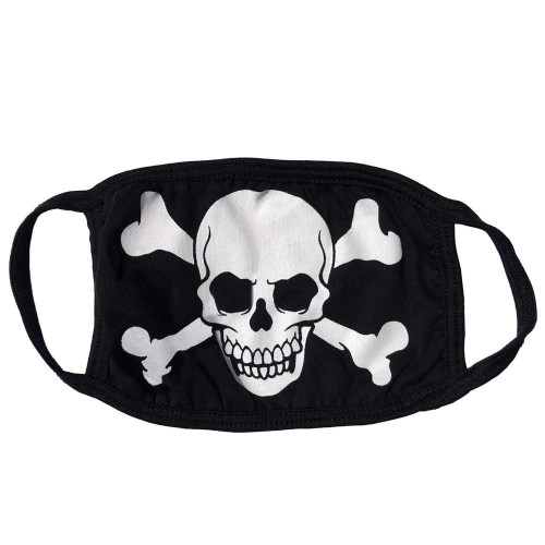 Skull and Crossbones Mask from Kreepsville 666