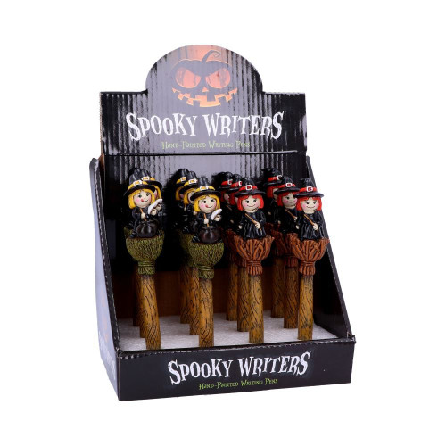 Spooky Writer Witch Pen from Nemesis Now