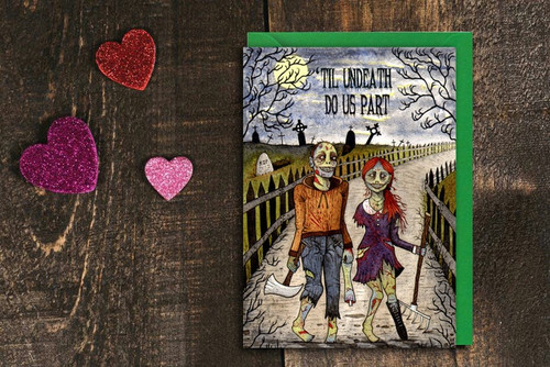 'Til Undeath Do Us Part Card from Simons Nest