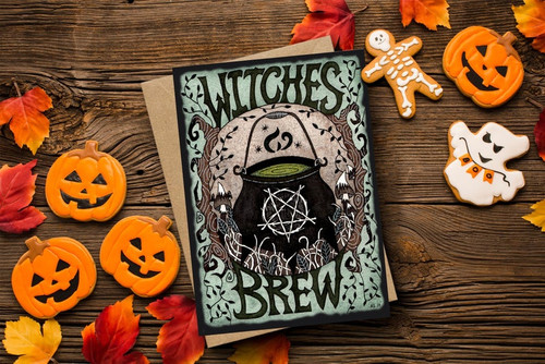 Witches Brew Card from Simons Nest