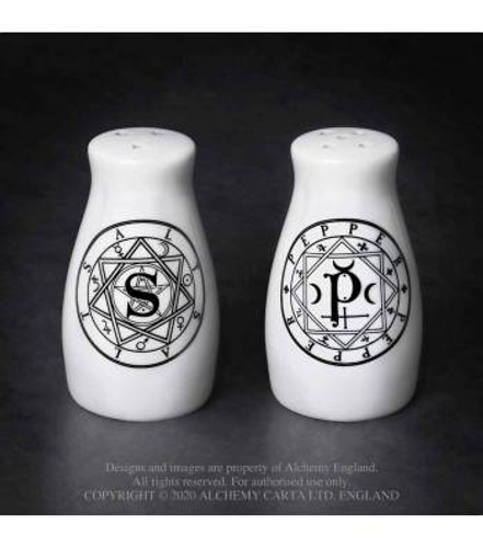 Witchy Salt and Pepper Pots from Alchemy England