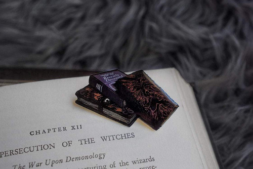 Required Reading Pin from Lively Ghosts