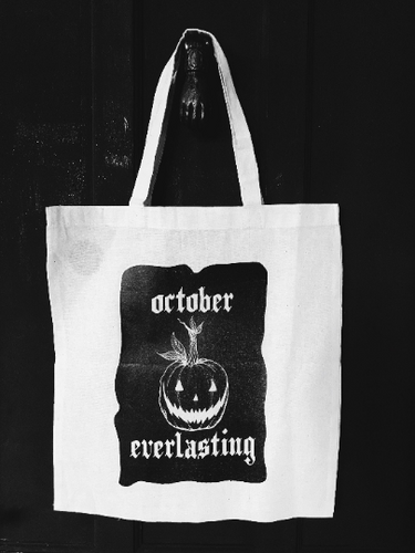October Everlasting Tote Bag from The Ghost Family Haunts