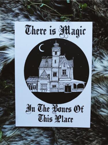 Magic Bones Print from The Ghost Family Haunts