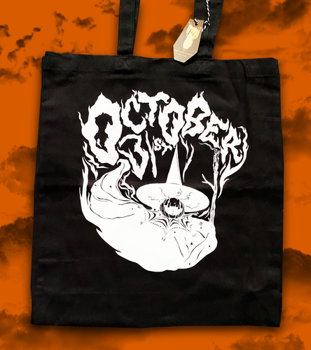 October 31st Exclusive Tote Bag from The Ghost Family Haunts