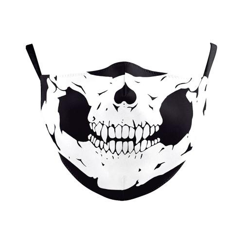 Classic Skull Reusable Face Mask
