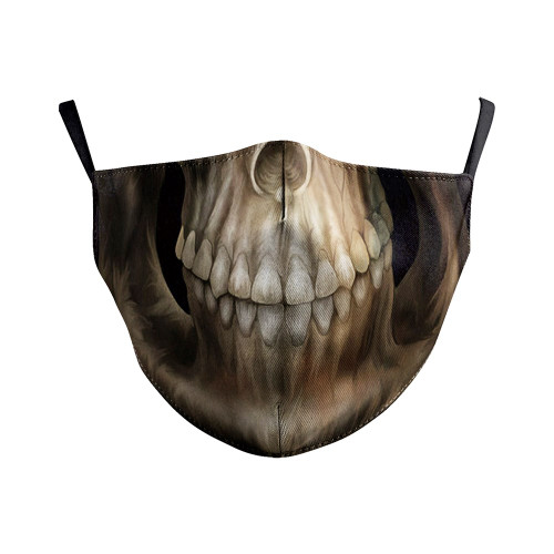 Gothic Skull Reusable Face Mask