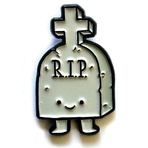 Gravey Enamel Pin from Rhode Montijo
