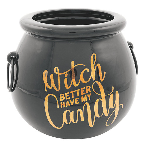 Witch Better Have My Candy Ceramic Candy Bowl