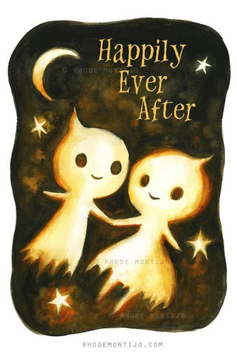 Happily Ever After Signed Print from Rhode Montijo