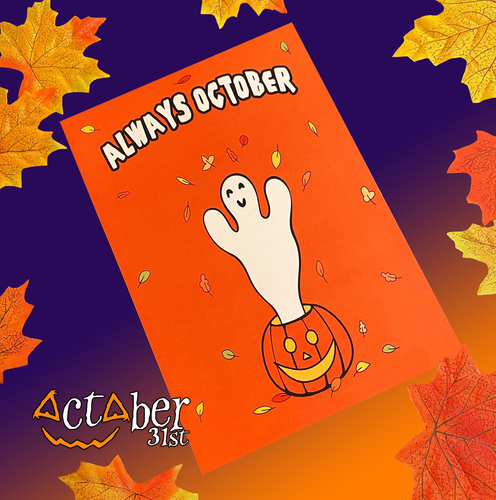 Always October A5 Print