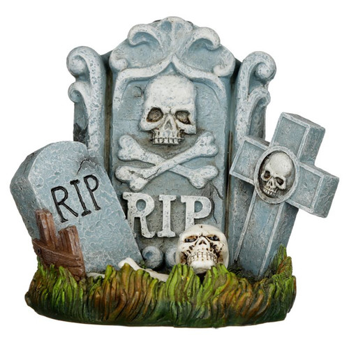 RIP Tombstone Backflow Incense Burner
