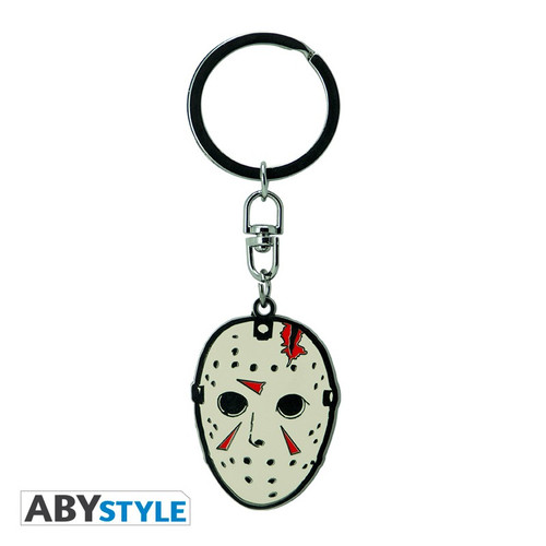 Friday The 13th Metal Keychain