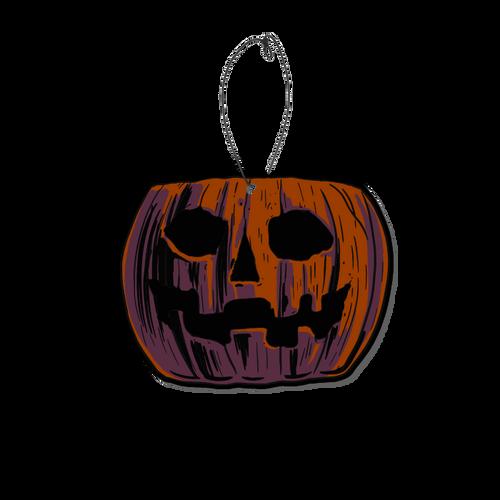 Candy Corn Pumpkin Pail Fear Freshener