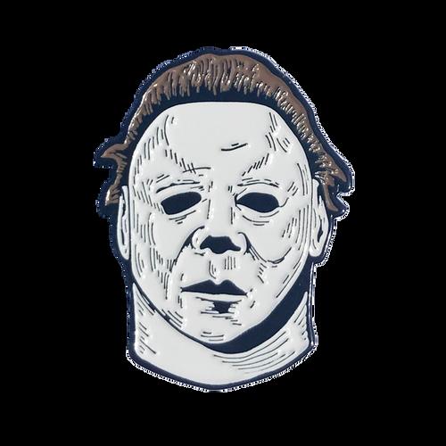 Halloween 2 Michael Myers Enamel Pin
