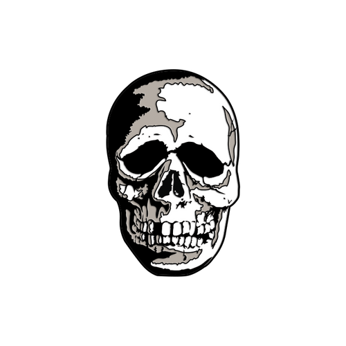 Halloween 3 Season of the Witch Skull Enamel Pin