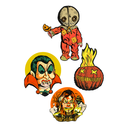 Trick r Treat Wall Decor Series 1 Set