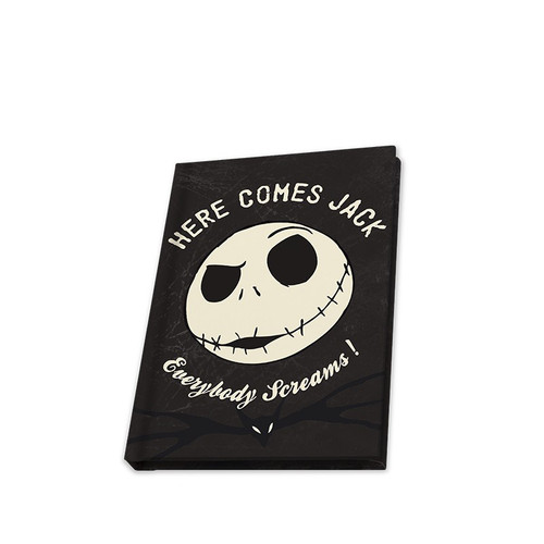 The Nightmare Before Christmas Pocket Glow in the Dark Notebook