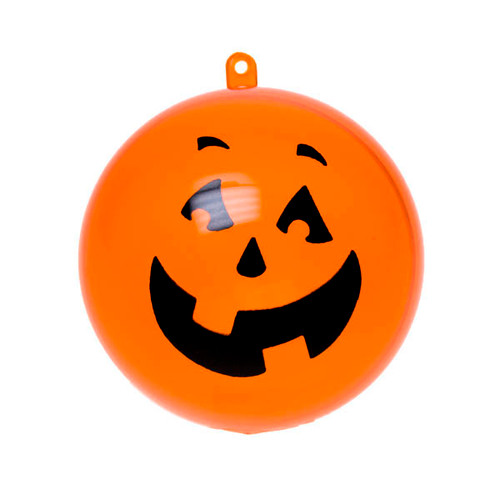 Orange Pumpkin Splittable Bauble 8cm