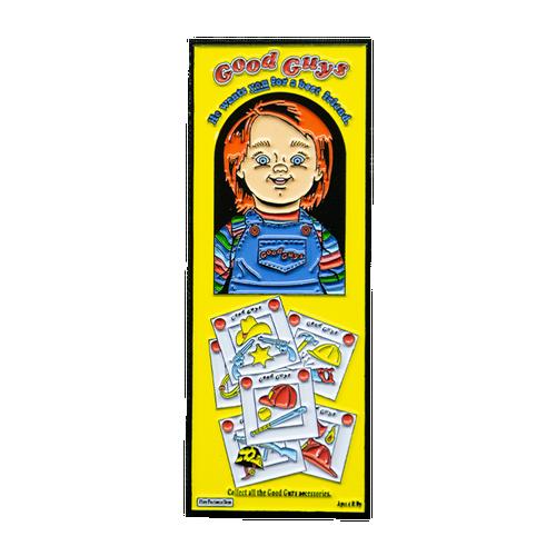 Child's Play 2 Good Guys Box Enamel Pin