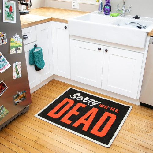 Sorry, We're Dead Rug from Creepy Co