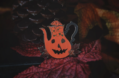 A Haunting in Haddonfield Pin from Lively Ghosts