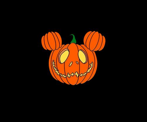 Jack Skellington Orange Pumpkin Pin from Lively Ghosts