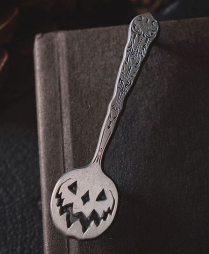 Haunted Hallows Spoon Enamel Pin from Lively Ghosts