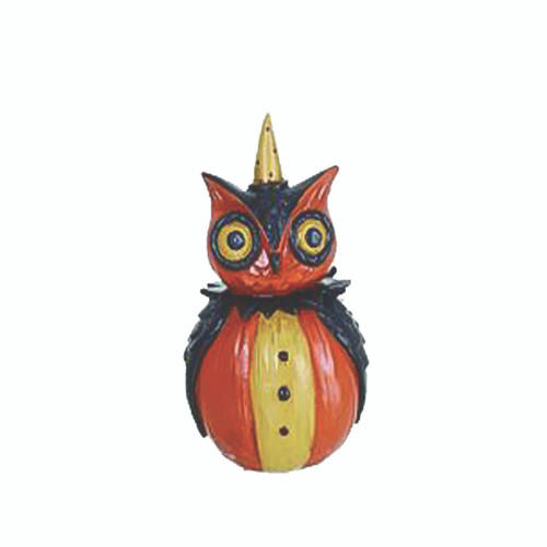 Pumpkin Peeps Owl Ornament from Johanna Parker Design