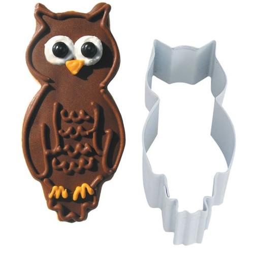 Owl Metal Cookie Cutter