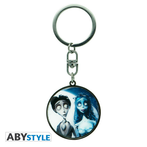 Corpse Bride Victor and Emily Keychain