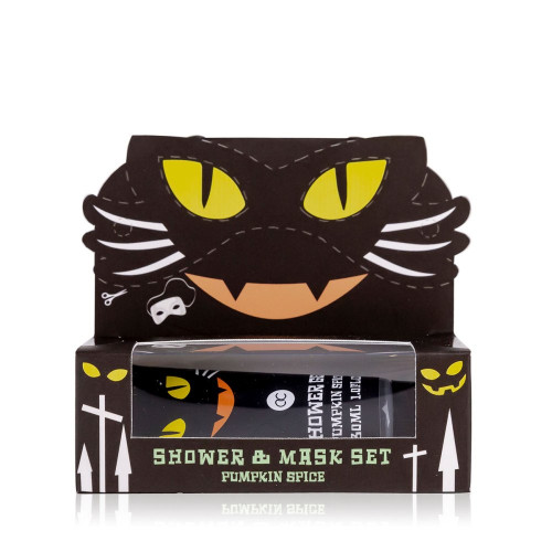 Black Cat Shower Gel and Mask Set 60ML