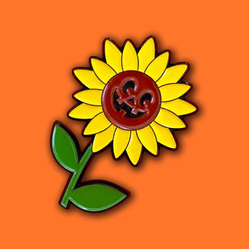 Sunflower Jack Pin from Lil Pumpkin 1993 Studios