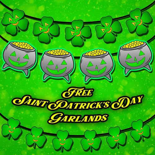 Free Saint Patrick's Day Printable Garlands