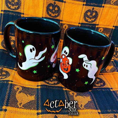 Playful Ghosts Mug