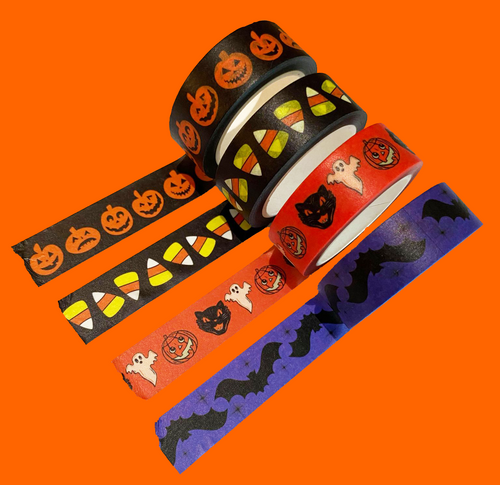 Halloween Washi Tape One of 4 Designs!