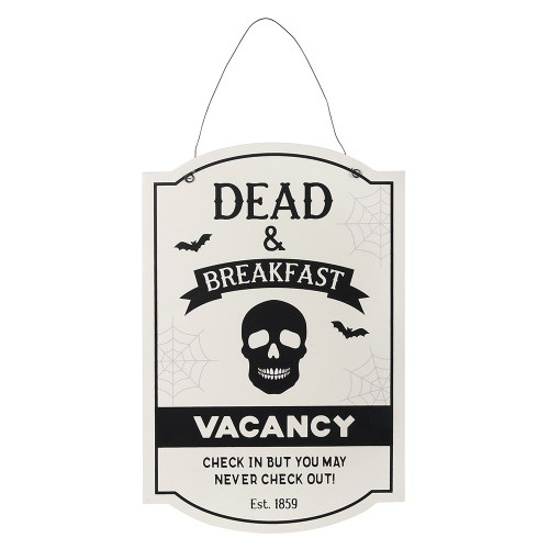 Dead and Breakfast Hanging Sign