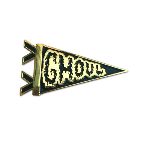 Ghoul Pennant Pin from Two Ghouls Press