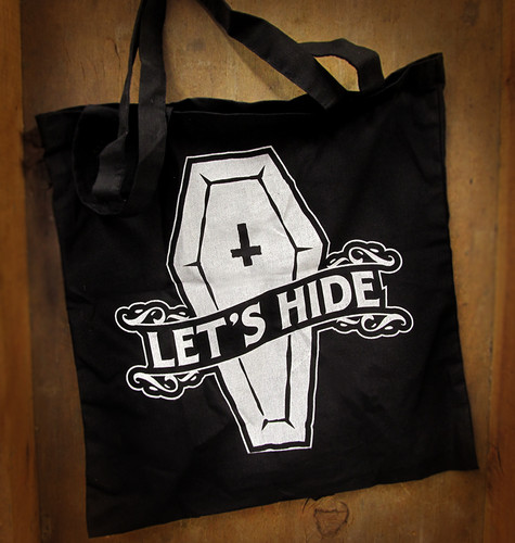 Let's Hide Tote Bag from Yosiell Lorenzo