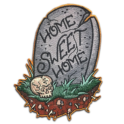 Resting Place Patch from Two Ghouls Press