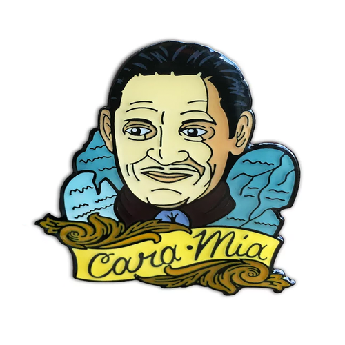 Cara Mia Enamel Pin from Two Ghouls Press