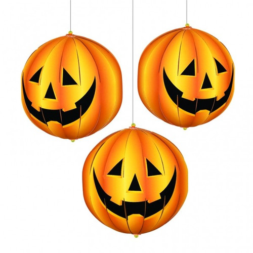 3D Pumpkin Hanging Decorations