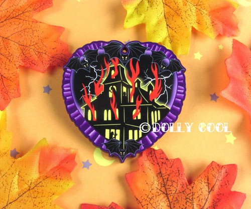 Haunted House Brooch by Dolly Cool