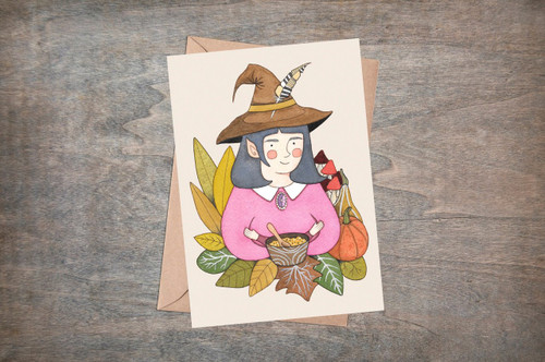 Hedgewitch Card from Simons Nest
