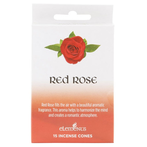 Elements Red Rose Incense cones