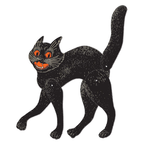 Jointed Scratch Cat Decoration from Beistle