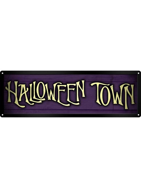 Halloween Town Tin Sign