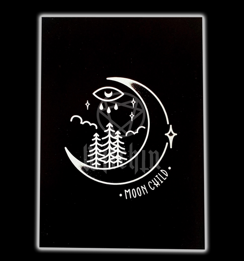 Moon Child Print from Witchin