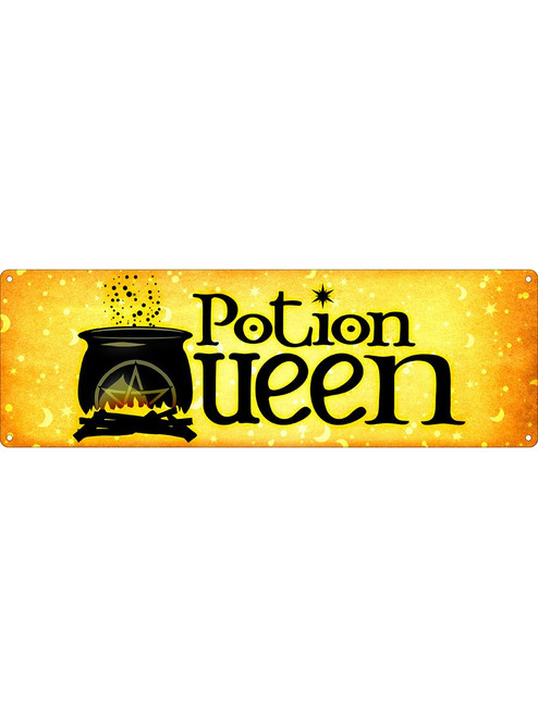 Potion Queen Tin Sign